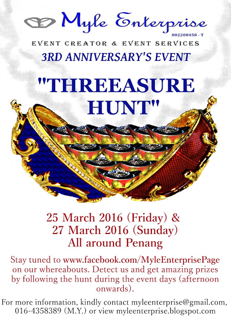 It's an egg, it's a rabbit… No, it's our Threeasure Hunt Event