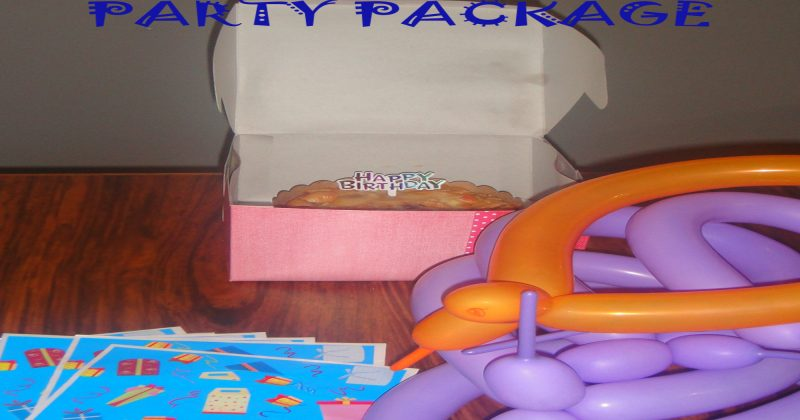 Myle Enterprise's Party Package Advertisement
