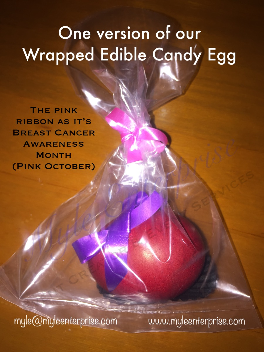 Wrapped Edible Egg