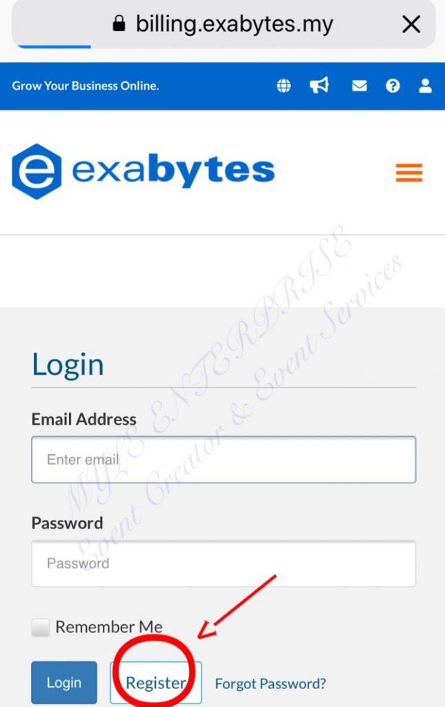 ME-ExabytesLoginPage