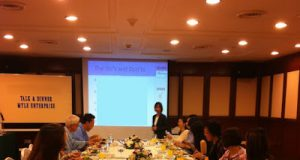 Myle Enterprise Event, Dinner Talk